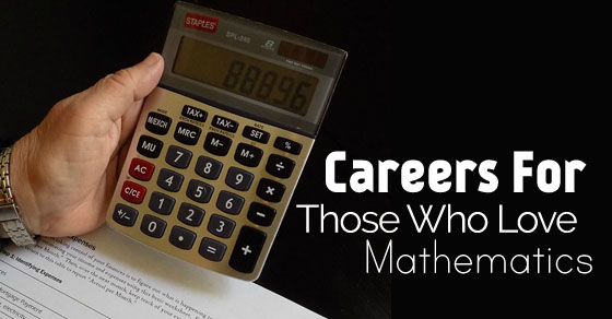 careers who love mathematics