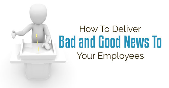 deliver news to employees