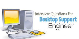 desktop support engineer questions