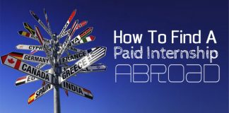 find paid internship abroad