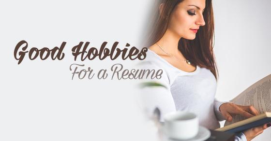 good hobbies for resume