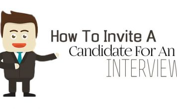 how invite candidate interview