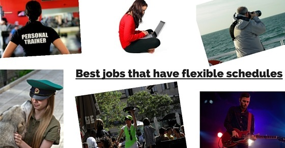 jobs with flexible schedules
