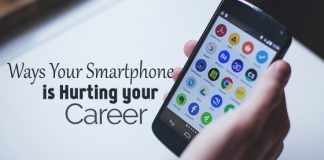 smartphone hurting your career