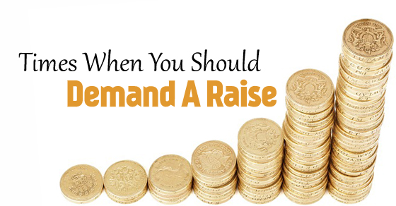 you should demand raise