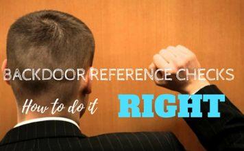 Backdoor Reference Checks