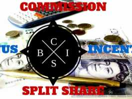 Bonus Incentive Commission Split Share
