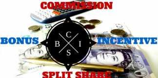 Bonus Incentive Commission Split Share