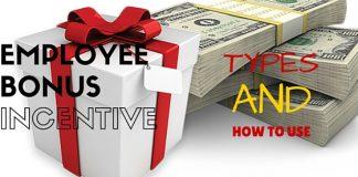 Employee Bonus or Incentive Schemes
