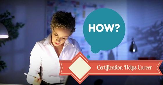 How Certification Helps Career