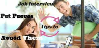 Job Interview Pet Peeves