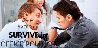 Office Politics Avoid Survive