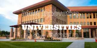 Worlds Most Innovative Universities