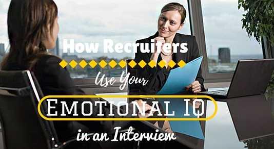 emotional iq interview