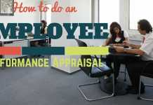how to do performance appraisal