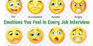 job interview emotions
