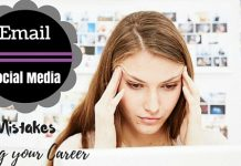 mistakes killing your career