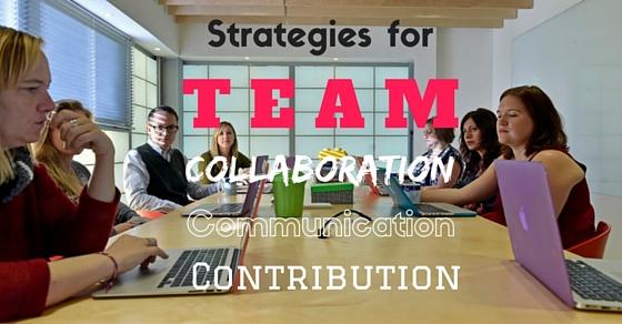 strategies for team success