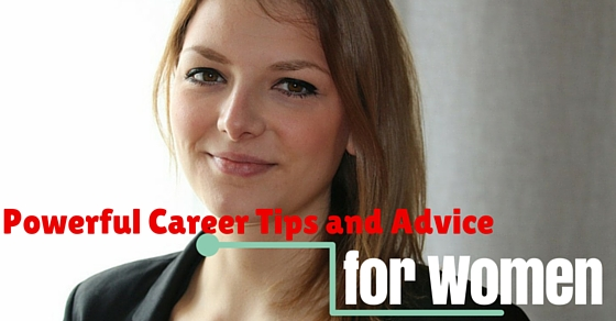 women career tips advice