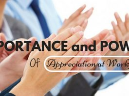 Appreciation Importance at Workplace
