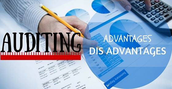 Auditing Advantages Disadvantages