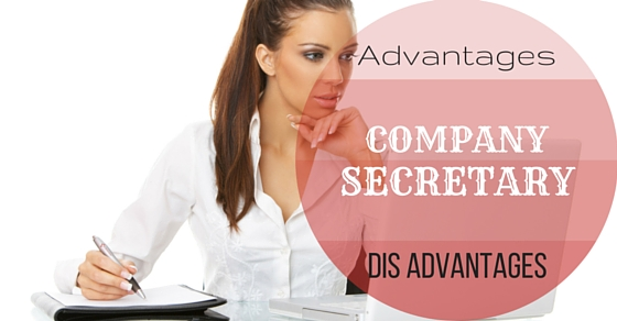 Company Secretary Advantages Disadvantages