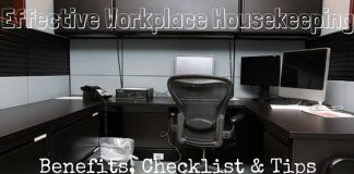 Effective Workplace Housekeeping Tips