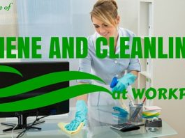 Hygiene Cleanliness at Workplace