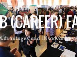Job Fair Advantages Disadvantages