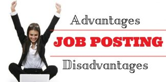 Job Posting Advantages Disadvantages