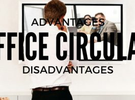 Office Circulars Advantages Disadvantages