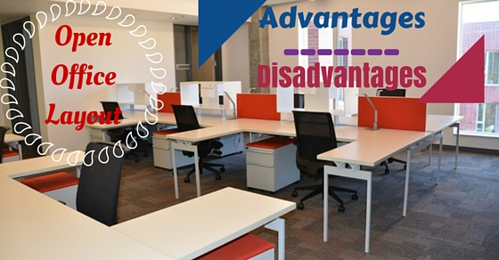 Advantages and disadvantages of open office layout wisestep for Open plan office design