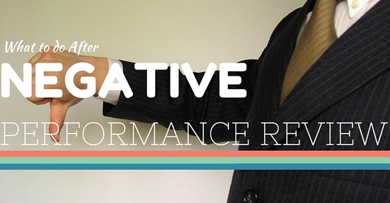 Overcome Negative Performance Review
