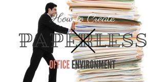 Paperless Office Environment Benefits