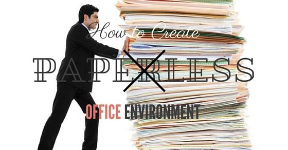 Paperless Office Environment Benefits