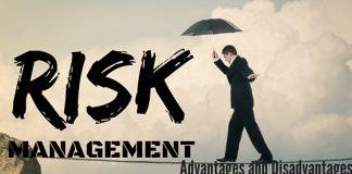 Risk Management Advantage Disadvantage