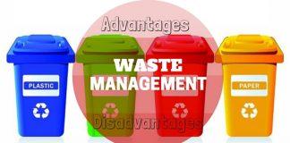 Waste Management Advantages Disadvantages