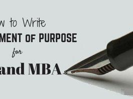 Write Statement of Purpose
