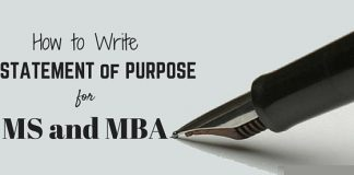 Write Statement of Purpose