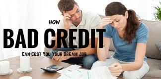bad credit job loss