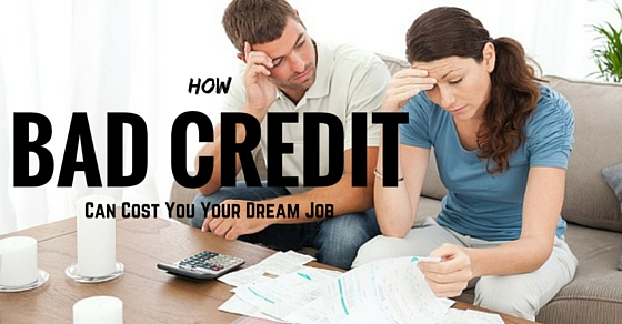 bad credit job loss