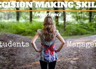 importance of decision making skills