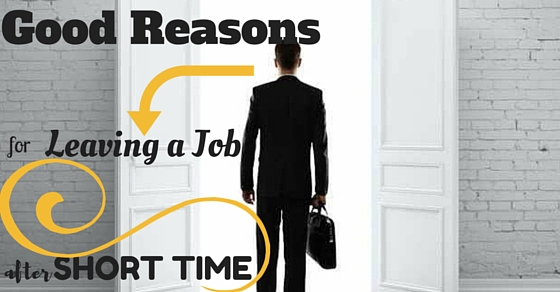 reason for leaving job answer