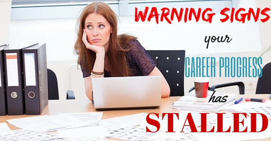 signs your career has stalled