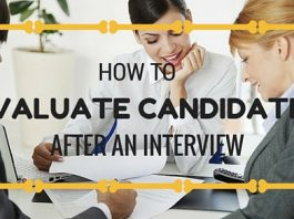 Candidate Evaluation Post Interview