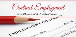 Contract Employment Advantages Disadvantages