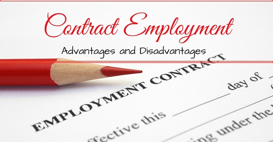 Contract Employment  Top  Advantages And Disadvantages  Wisestep