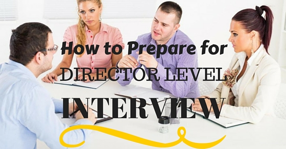 Director Level Interview Tips