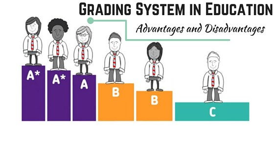 Advantages and disadvantages of grading system