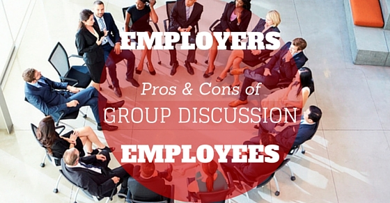 Group Discussion Pros Cons